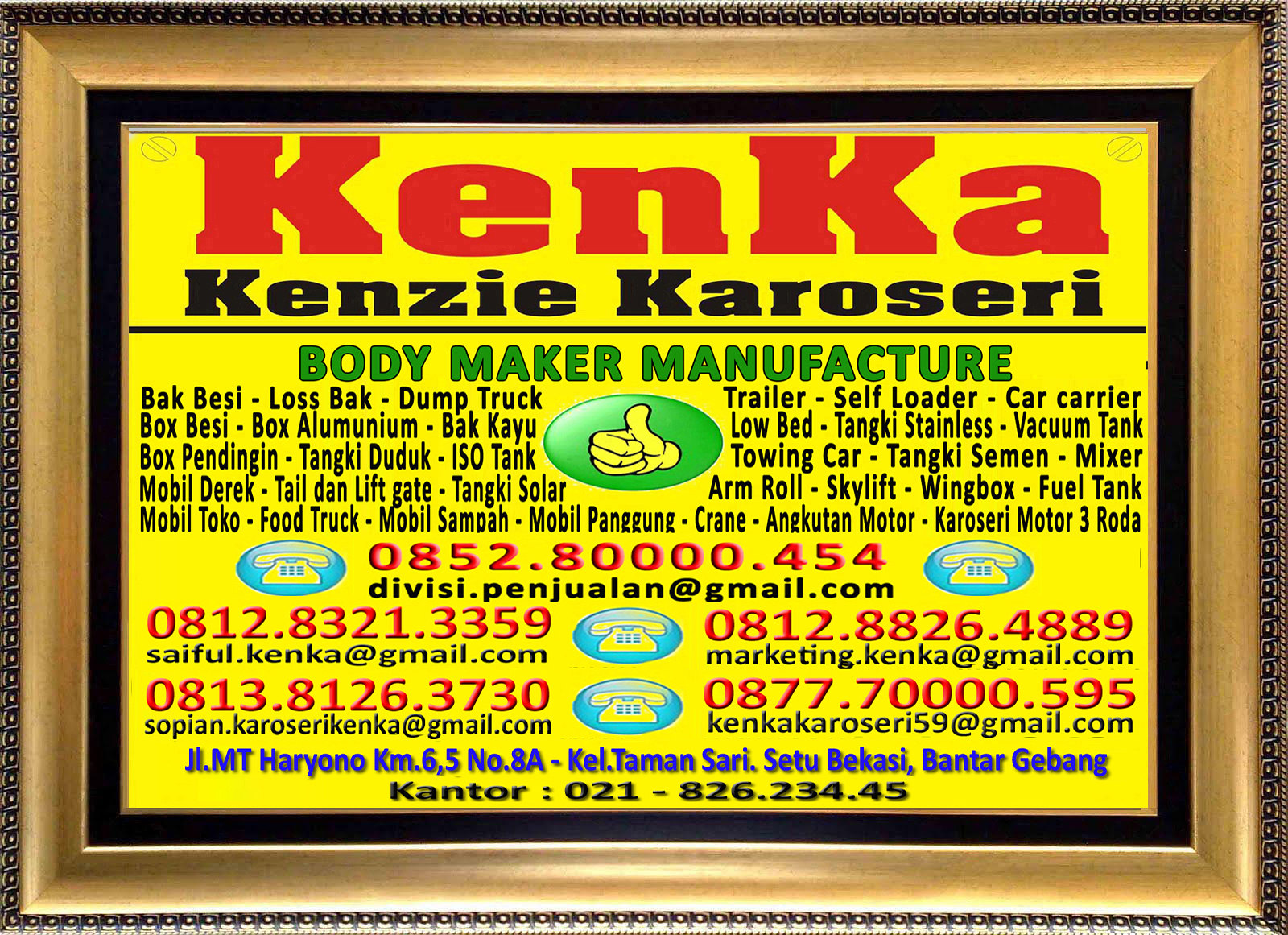 Logo KenKa - Thamrin - Marketing