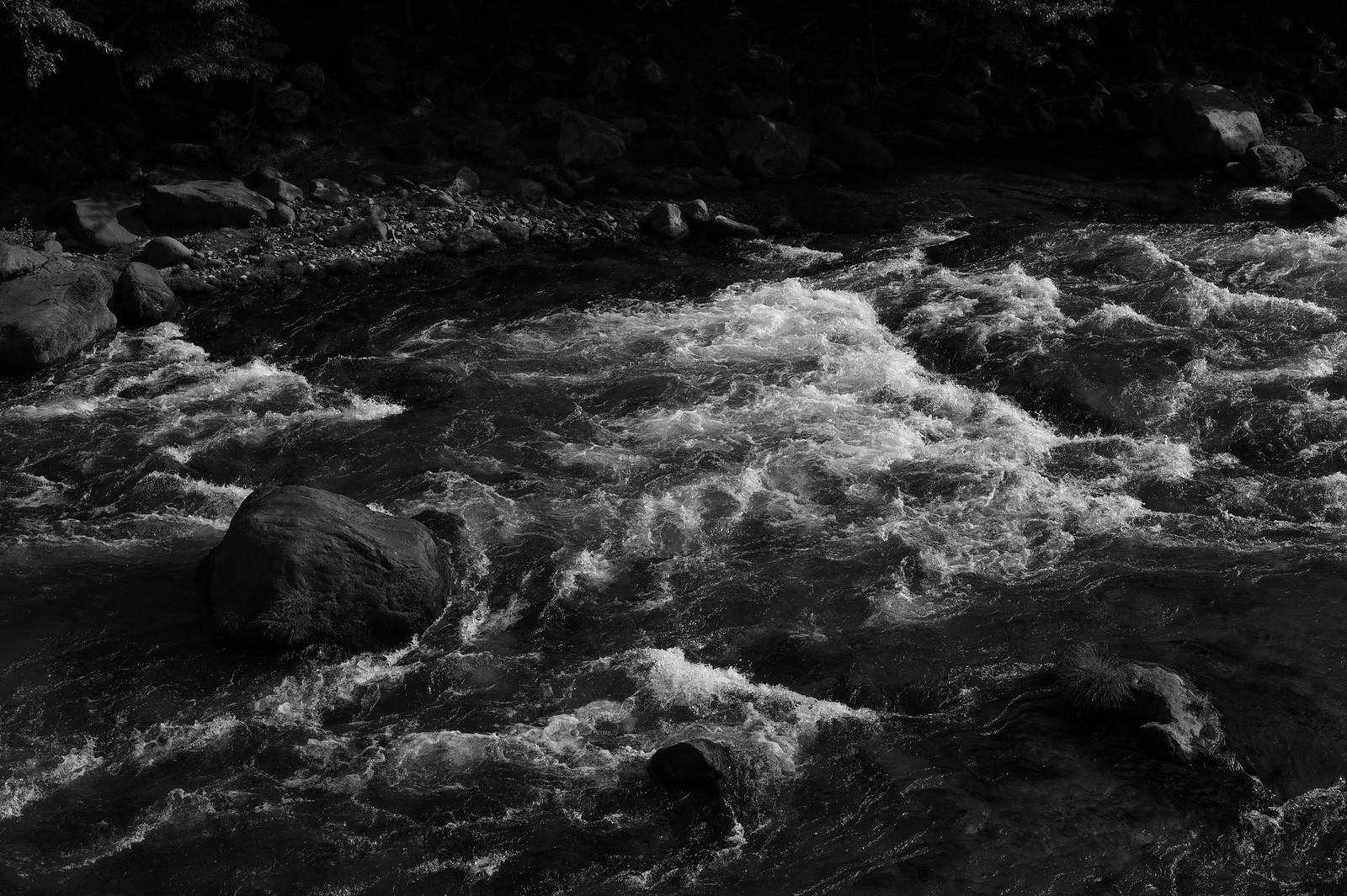 raging stream