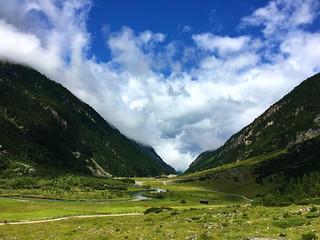 Swiss Austrian Alps