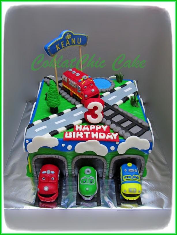 Cake Chuggington KEANU 15 cm