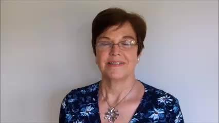 Wendy Jones on receiving her Points of Light award