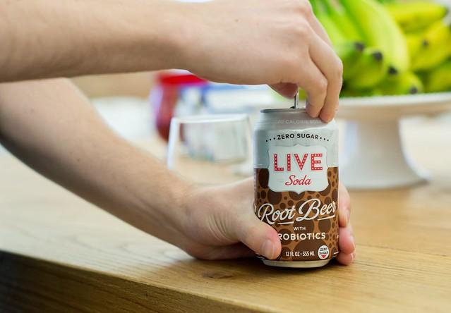 LIVE Probiotic Soda