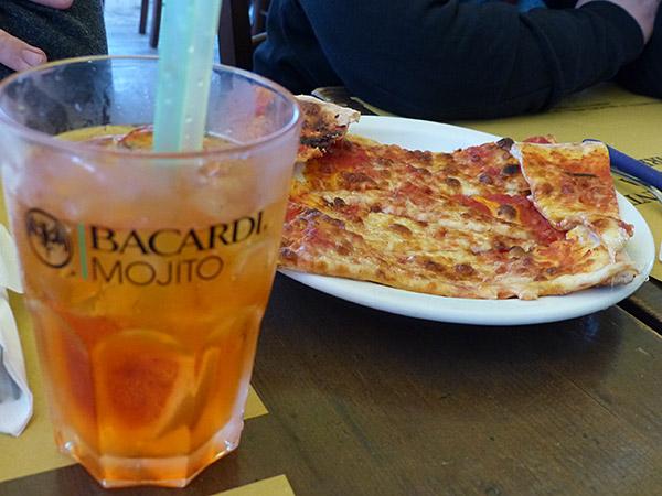 spritz et pizza