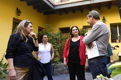 dc., 18/04/2018 - 15:32 - Ada Colau visita diferents cooperatives a Montevideo