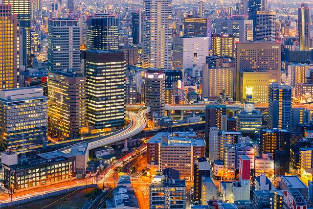 Urban jungle @ Osaka