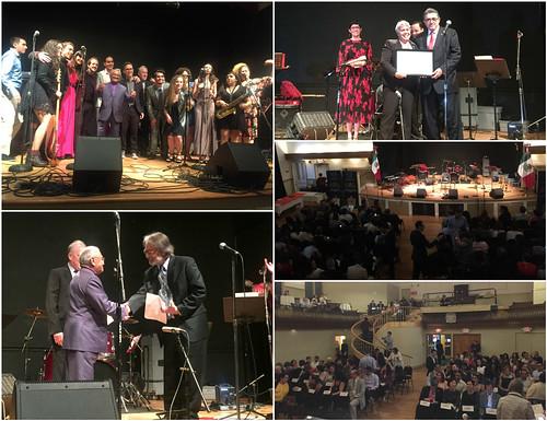 Armando Manzanero viste de gala la celebración de  5 de Mayo en Boston