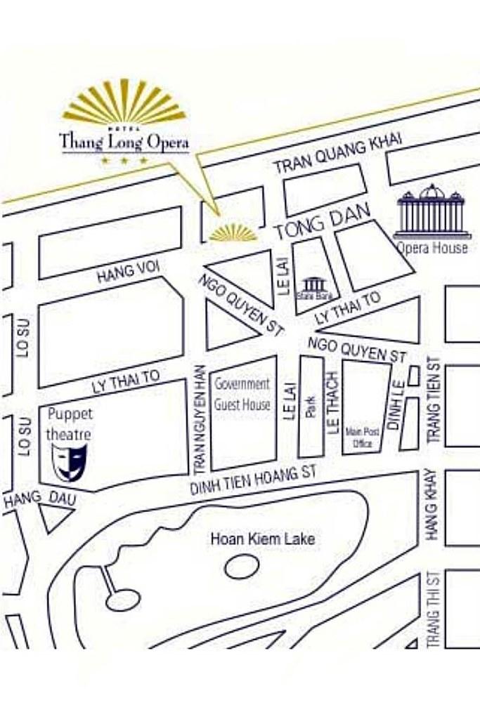 Thang Long Opera Hotel Map