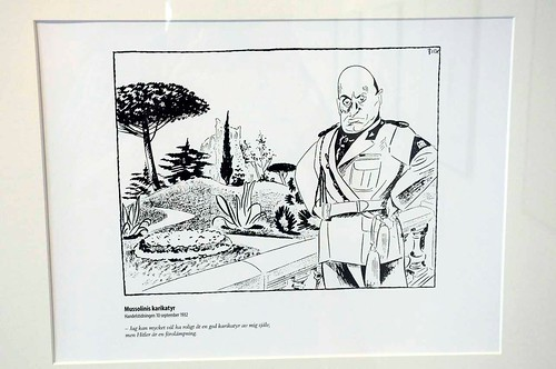 Ragnvald Blix – Mussolinis karikatyr