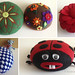 CD and Felt pincushion
