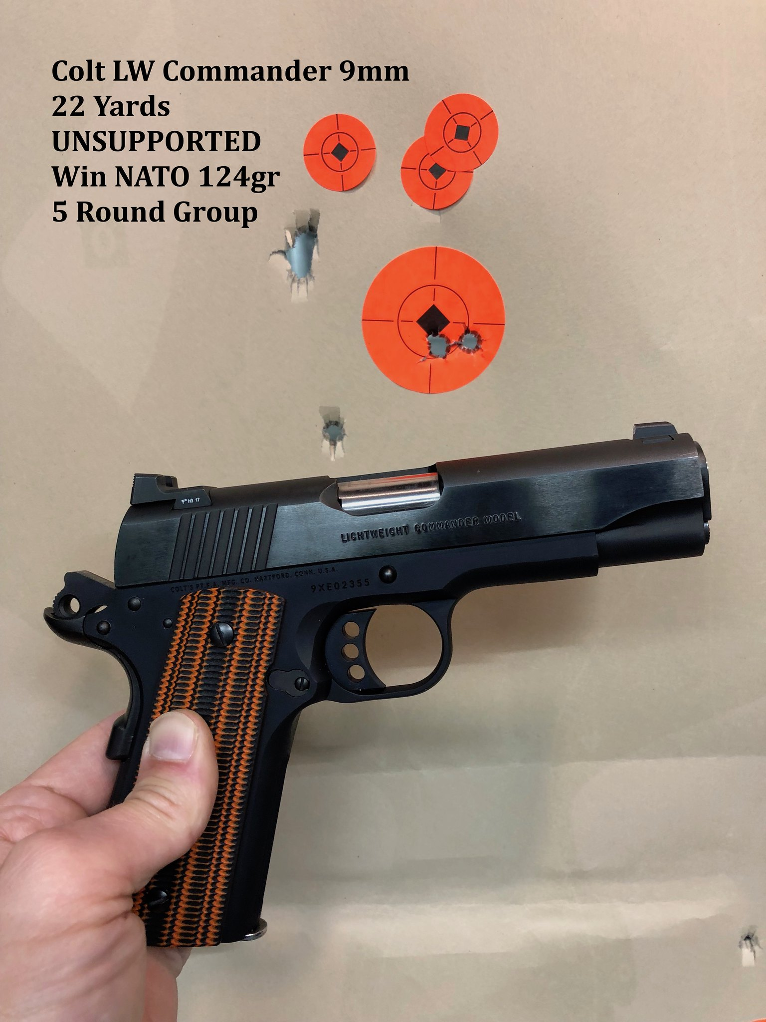 Colt Series 70 Comp 1911 Parts Schematic Quotes Lightweight Commander 9mm At 22 Yards Unsupported