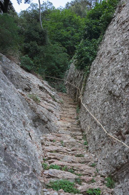 Escales de pedra de MontserratDSC_2247