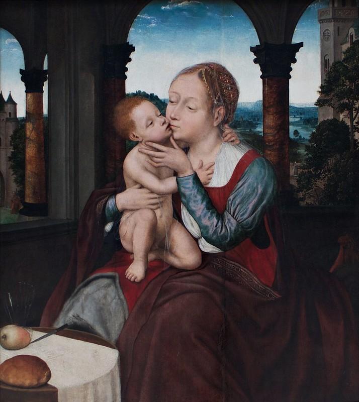 Quinten Metsys - Maria met Kind