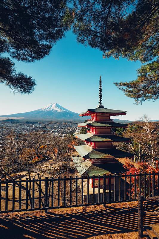 富士山|新倉山淺間神社