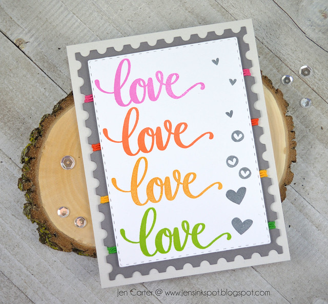 Jen Carter CP Love is in the Air Rainbow
