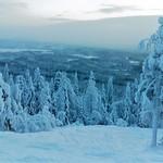 Sweden, Pullinki ski near Mäntyvaara