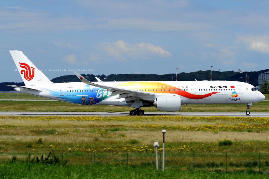 F-WZNU // Air China // A350-941 // MSN 217 // B-1083