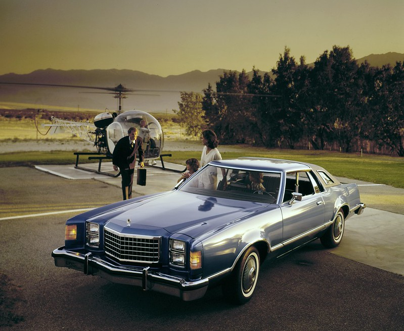 1977-1979. Ford LTD II Coupe.