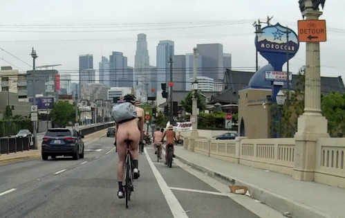 L.A. World Naked Bike Ride 2018 (111152)