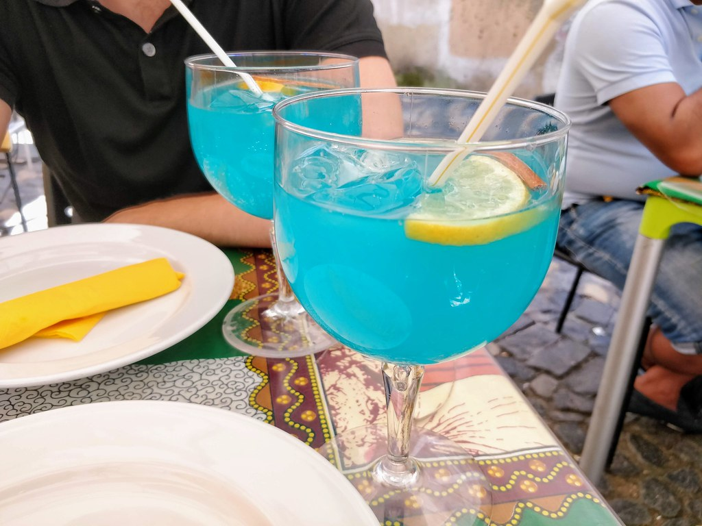 Blue Ginger Lemon drink