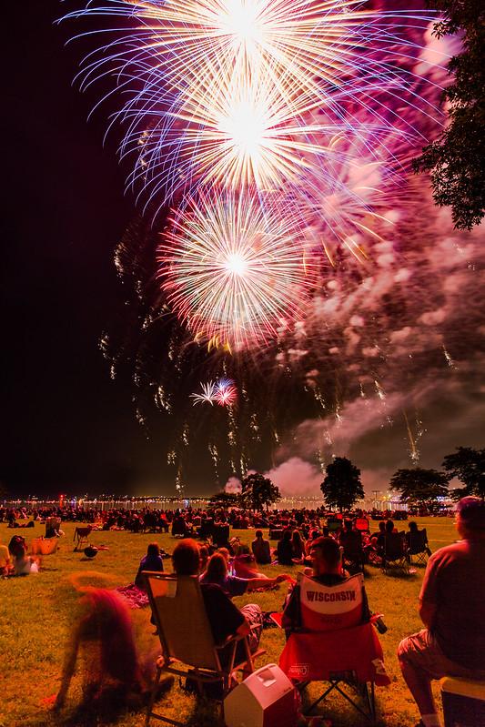 Glistening Fireworks