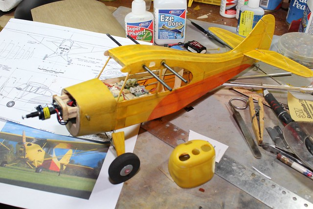 Model Aviation Magazine - Working with Silkspan