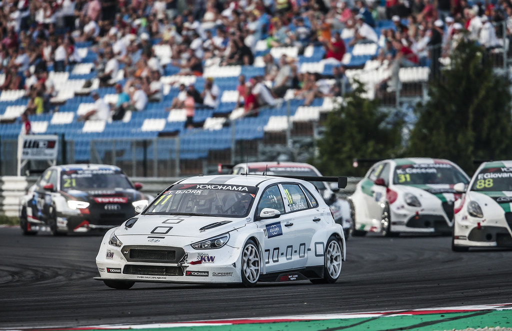 11 BJORK Thed, (swe), Hyundai i30 N TCR team Yvan Muller Racing, action during the 2018 FIA WTCR World Touring Car cup race of Slovakia at Slovakia Ring, from july 13 to 15 - Photo Jean Michel Le Meur / DPPI