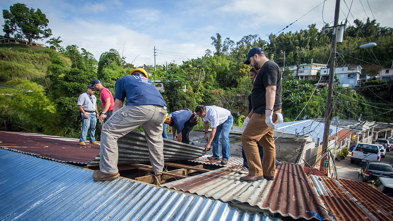 Governor Cuomo and Delegation Join SUNY and CUNY Students and Labor Volunteers to Rebuild Homes in Puerto Rico
