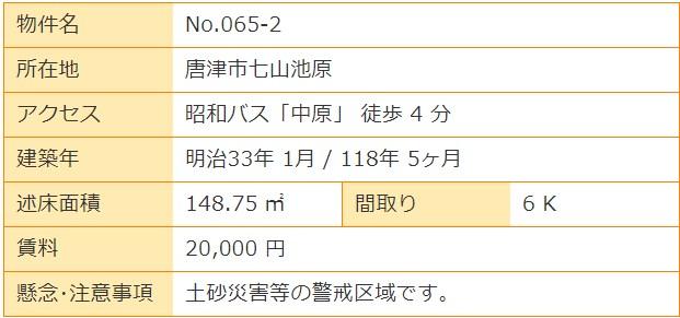 空き家バンク 唐津 七山 (11)