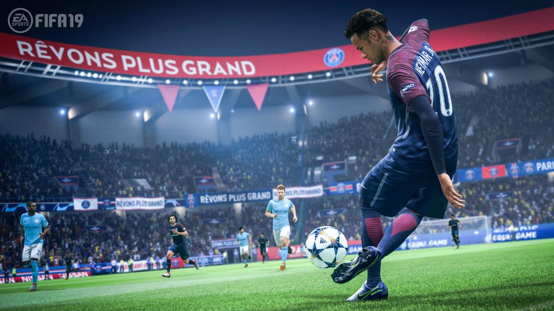 FIFA 19 çıkış tarihi ve şampiyonlar ligi trailer