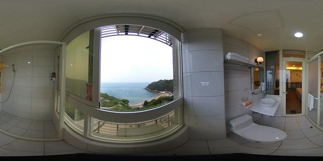 蔚藍珠海民宿-海景雙人房(浴室)