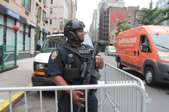 34.NYPD.BeforeParade.NYC.24June2018