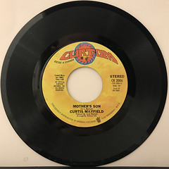 CURTIS MAYFIELD:MOTHER'S SON(RECORD SIDE-A)