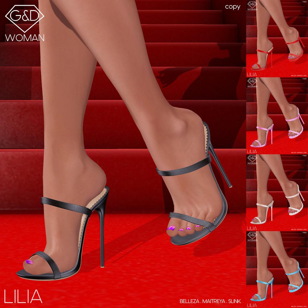 G&D Mules Lilia square adv