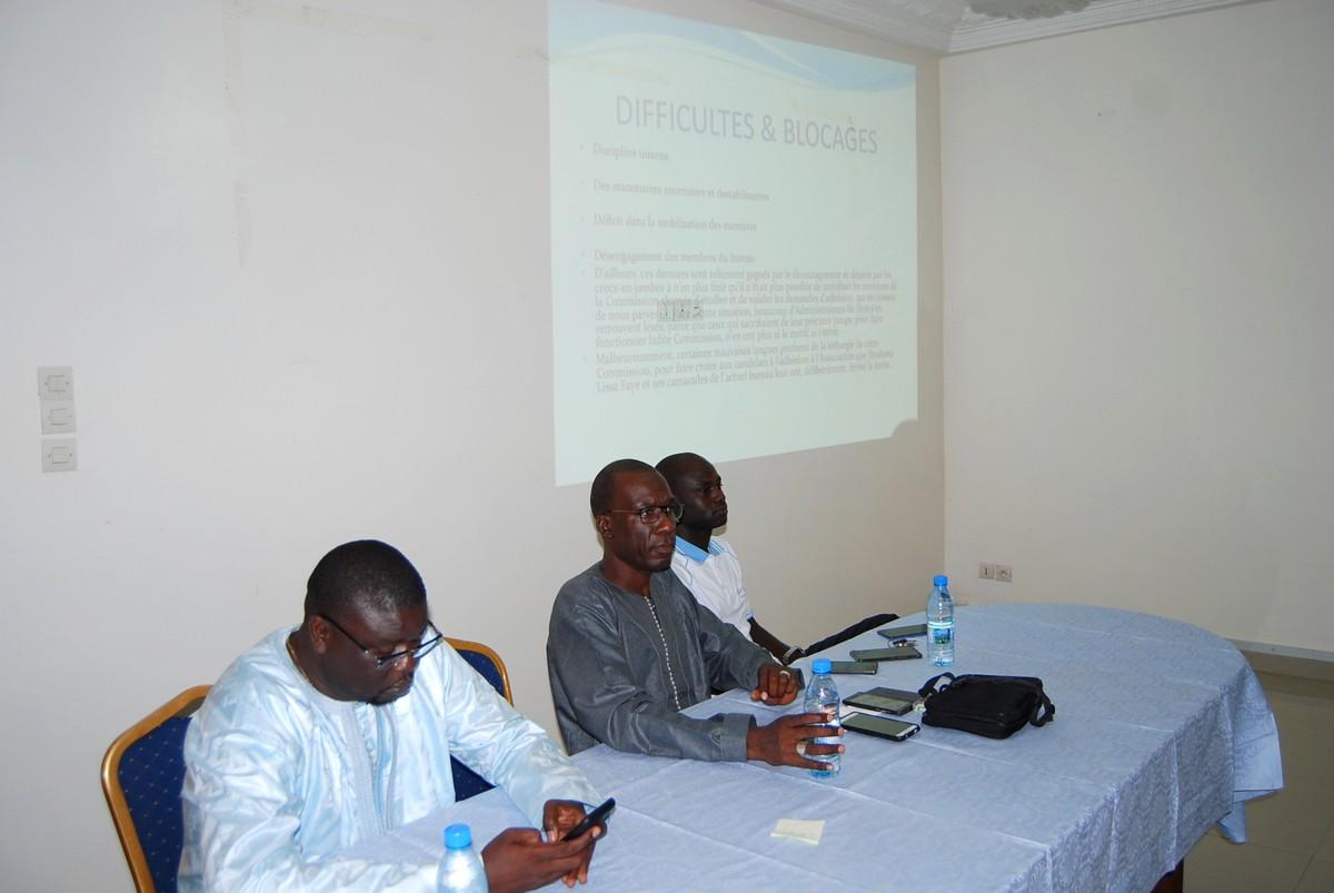 Rencontre Association des Journalistes et éditeurs de la Presse en Ligne Sénégalaise