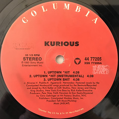 KURIOUS:UPTOWN SHIT(LABEL SIDE-A)