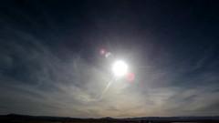 Sundogs at Sunset