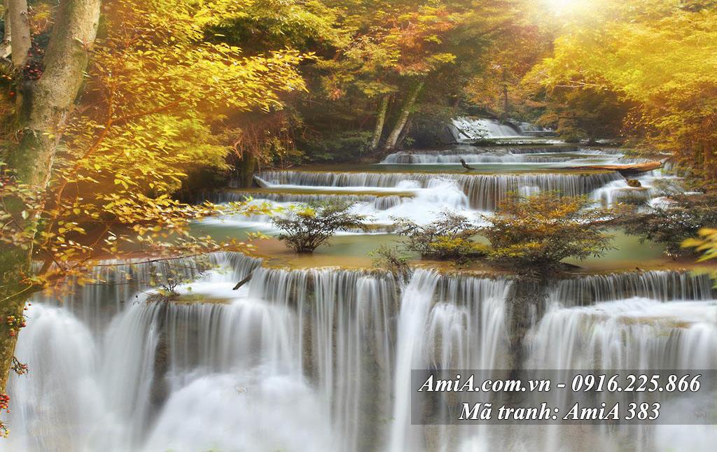 Hình ảnh tranh thác nước một tấm đẹp nhất AmiA