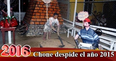 Chone despide el año 2015