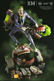 從來沒看過這麼酷的槍!! XM Studios Premium Collectibles 系列 DC Rebirth【小丑】The Joker 1/6 比例全身雕像作品