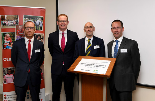 HRH The Earl Of Wessex visits the Centre for Clinical Haematology