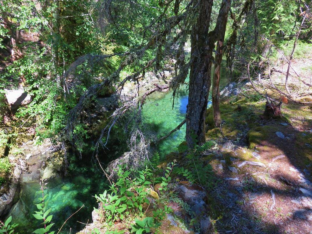 Emerald Pool on Elk Lake Creek