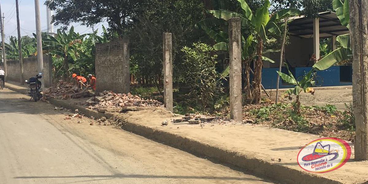 Reconstruyen cerramiento del Centro de Faenamiento