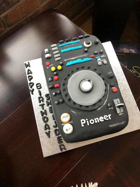 Cake for a DJ by Heavenly Cup Cakes Northern Ireland