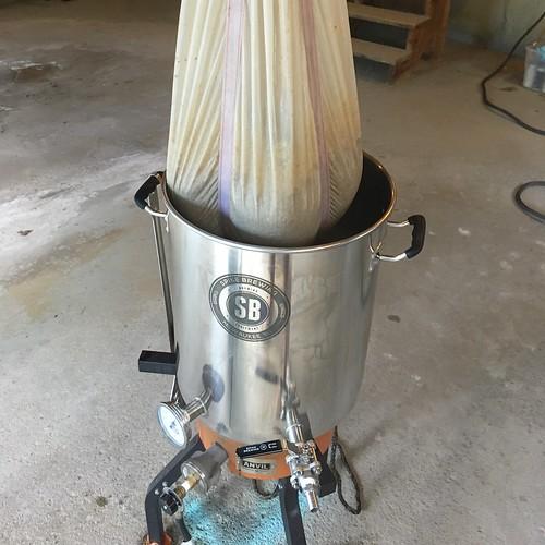 Green Mountain Grisette Brew Day