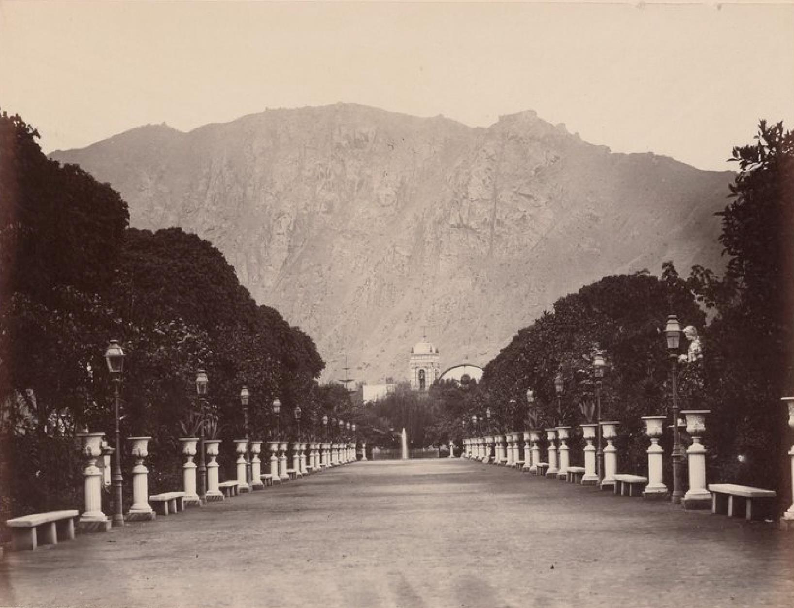 Лима. Западный вход в сад Ордена босоногих кармелитов