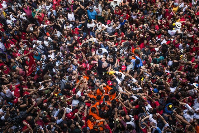 Pelo protagonismo popular, Lula Livre e candidato é uma das principais bandeiras de luta do Congresso do Povo - Créditos: Francisco Proner