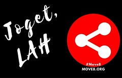 #Move8 Joget, LAH Sticker