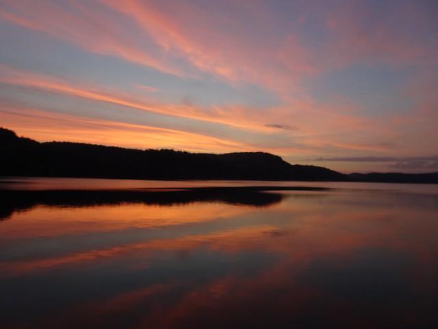 Sunset on Lake Macdonald