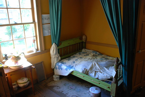 Bedroom in Jost House. From History Comes Alive in Sydney, Nova Scotia