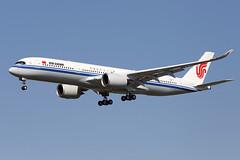 AIR CHINA / Airbus A 350-900 F-WZGZ msn 178 / LFBO - TLS / juillet 201